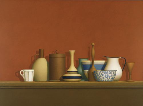 William Bailey, Mercatale Still Life