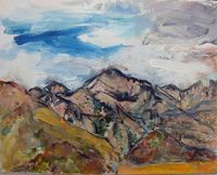 Barbara Major- Weaver, Madera Canyon mountains-1