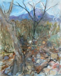 Barbara Major-Weaver, Madera Canyon ptg. III-1