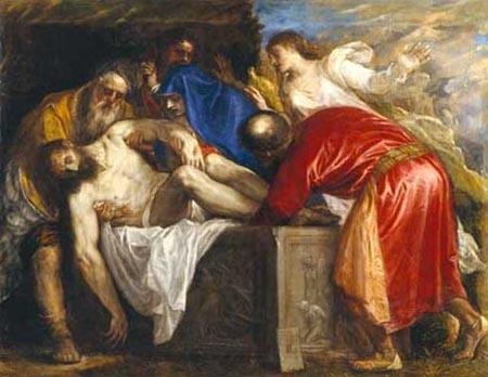 Titian Entombment