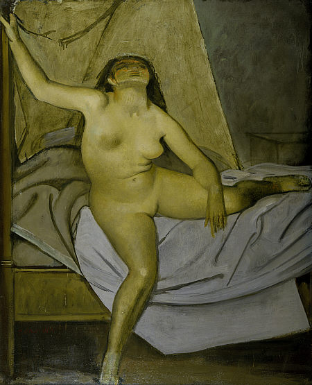 Balthus, Getting up.