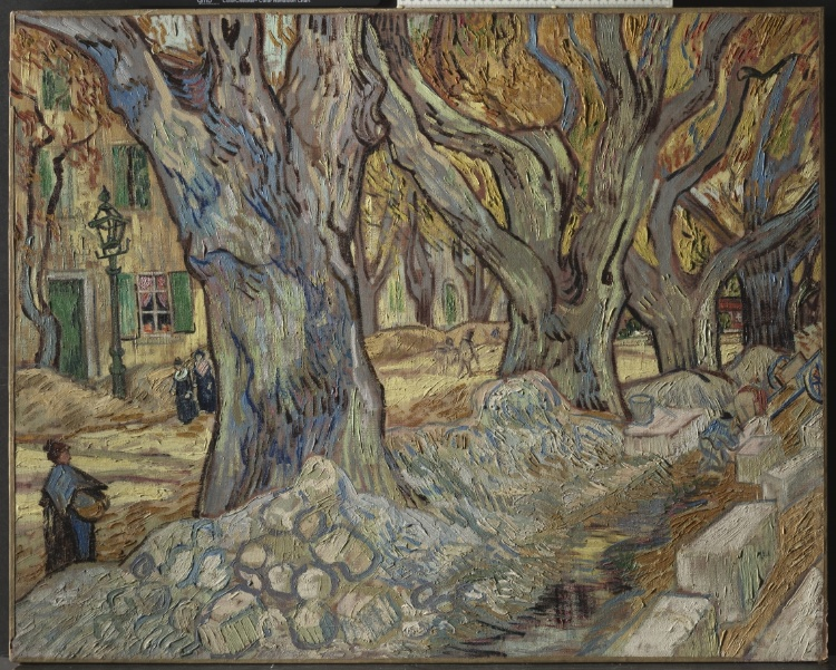 Van Gogh , Road Menders at St. Remy