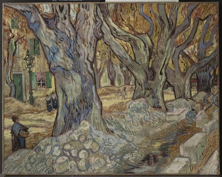 Van Gogh , Road Menders at St. Remy