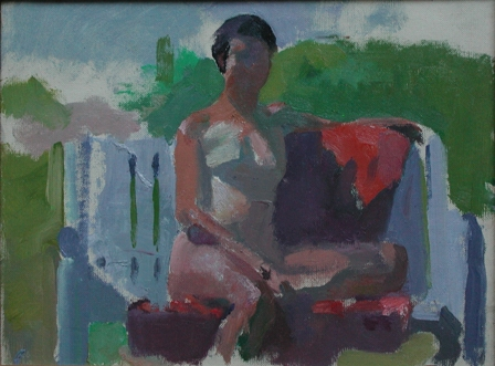 Lennart Anderson (Nude on a Bench)