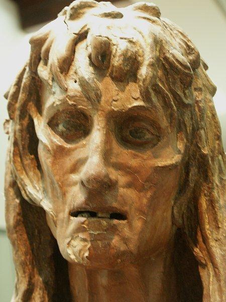 Mary Magdelene by Donatello (detail) 4