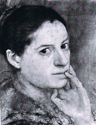 Isabel Bishop; self portrait