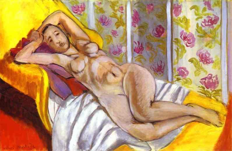 Matisse nu couche