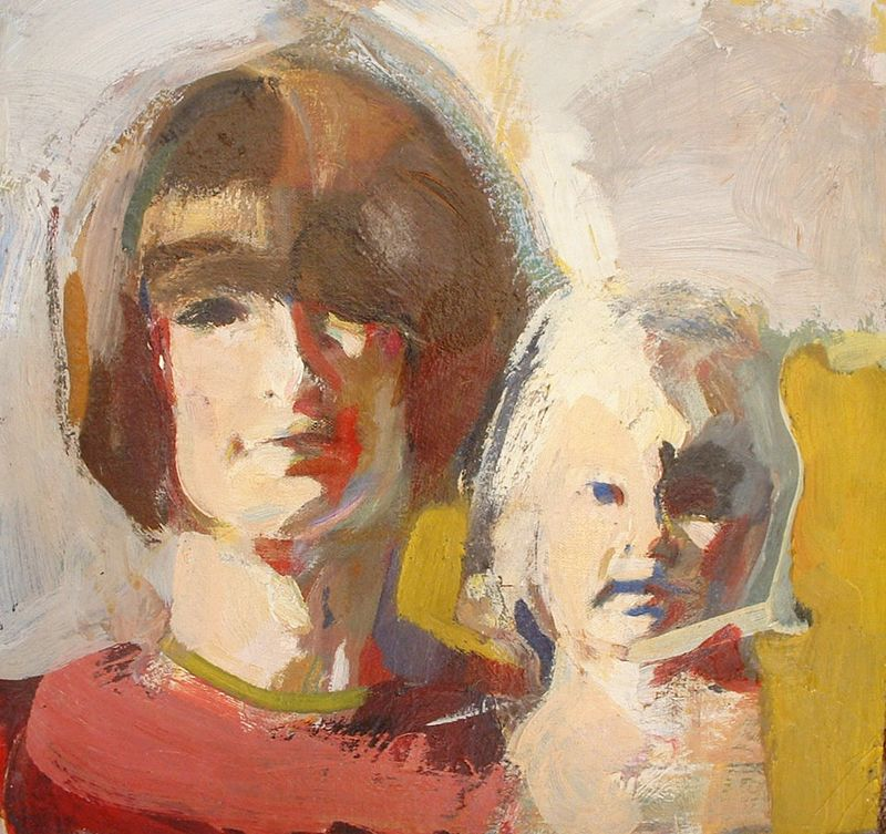 Mother and Daughter (M and J)-1