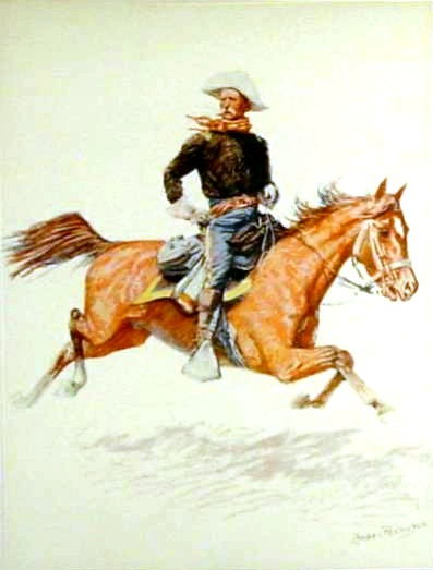 Frederic_Remington horse and rider