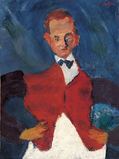 Chaim Soutine, The Room Service Waiter,, 1927