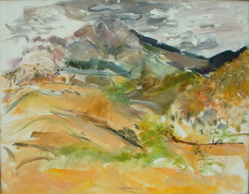 B. Port. Madera Canyon Mtns.IV (Mt. Wrightson)