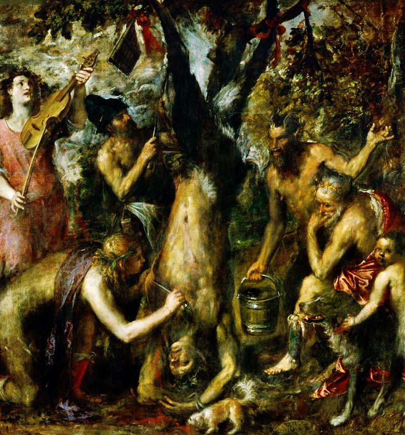 Titian - The Flaying of Marsyas
