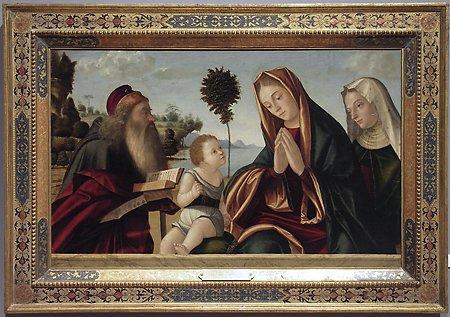 Carpaccio, Madonna and Child with Saints