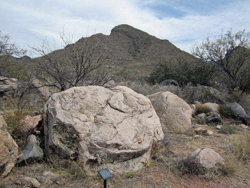 Bike day 13 Barb's rocks and Mt.-1