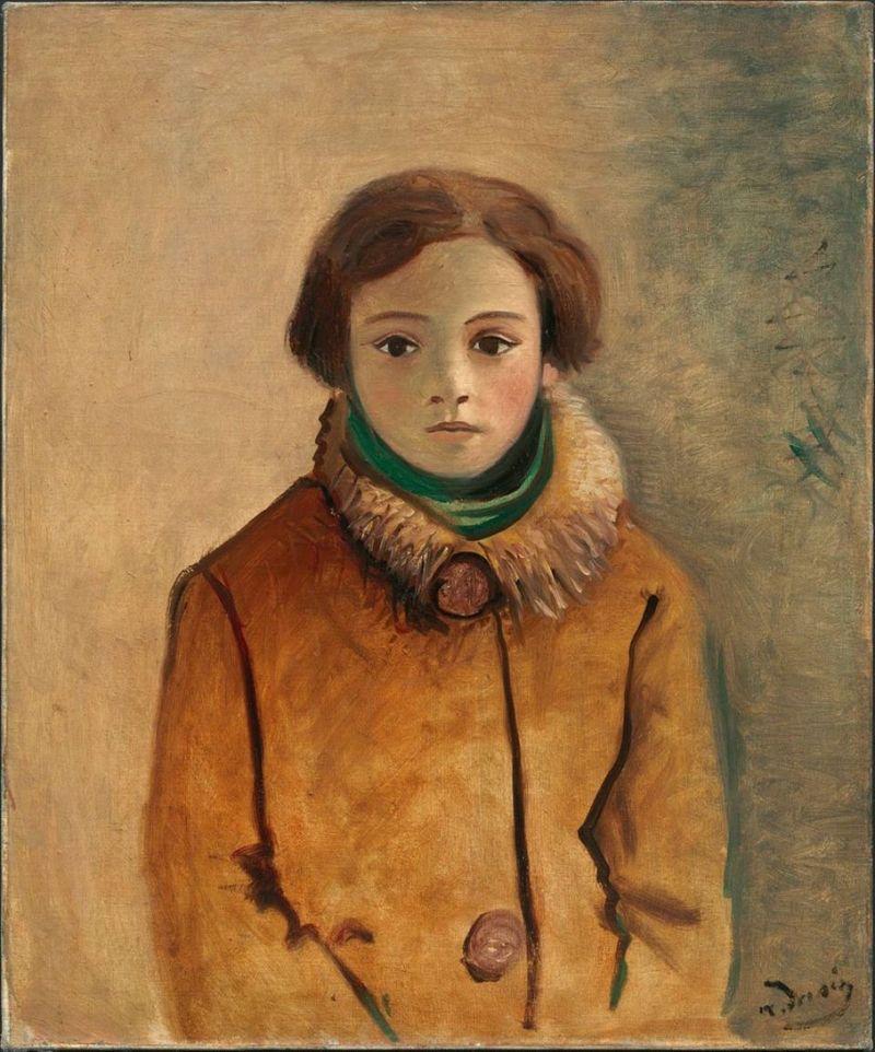 Derain's Genevieve Taillade in an Orange Jacket