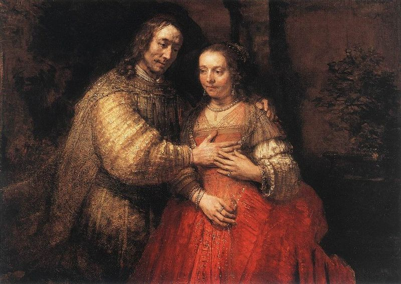 Rembrandt's Jewish Bride 2 (better)