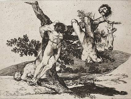 Goya - An heroic feat.