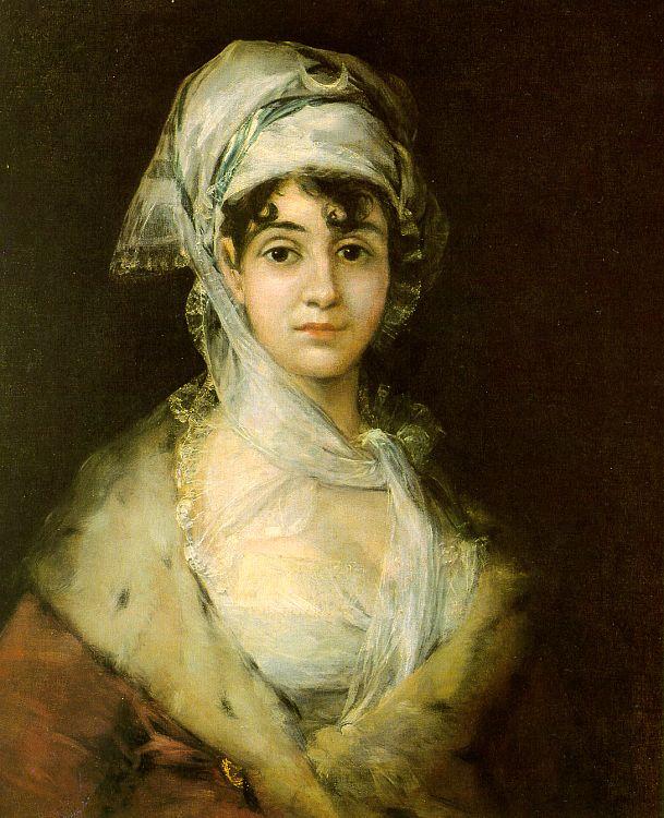 Goya -Antonia Zarate
