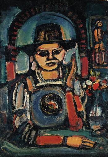 Rouault, The Chinese Man, 1937