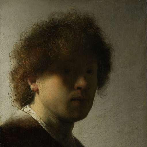 Rembrandt self portrait 2