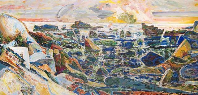 Bernard Chaet Spreading Light 1999-2000