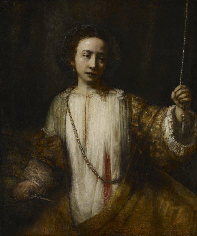 Rembrandt Lucretia 2