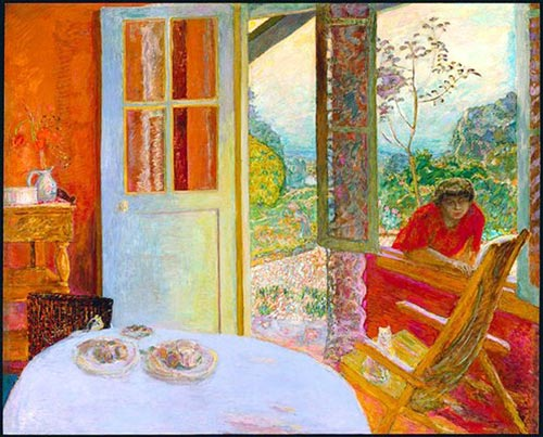 Bonnard Dining room in the Country