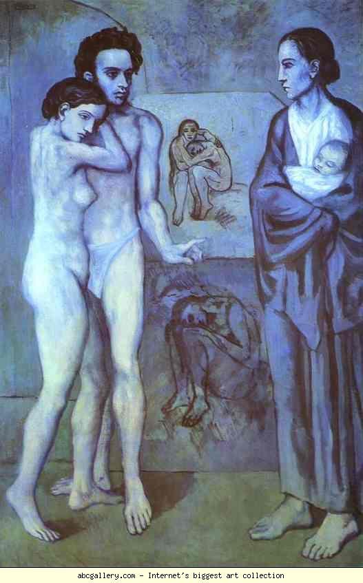 Picasso La Vie