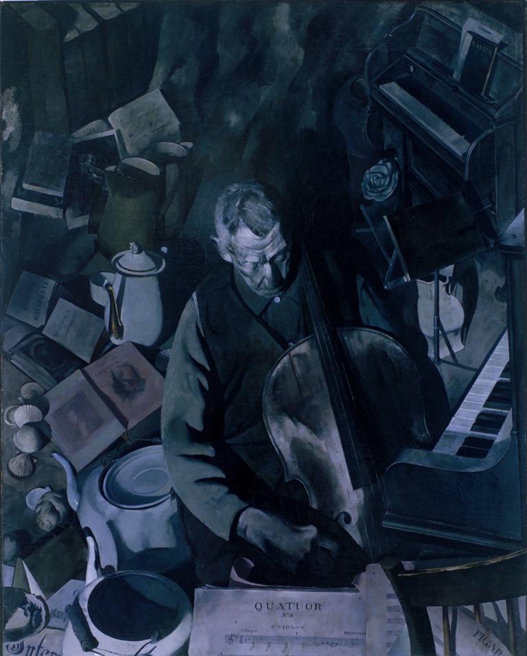Dickenson, Cello Player