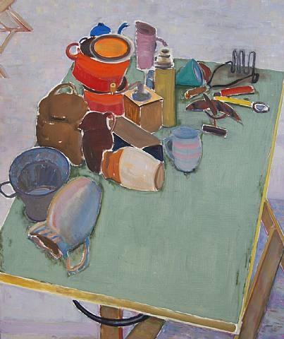 Bernard Chaet Terre Verte  36 x 44