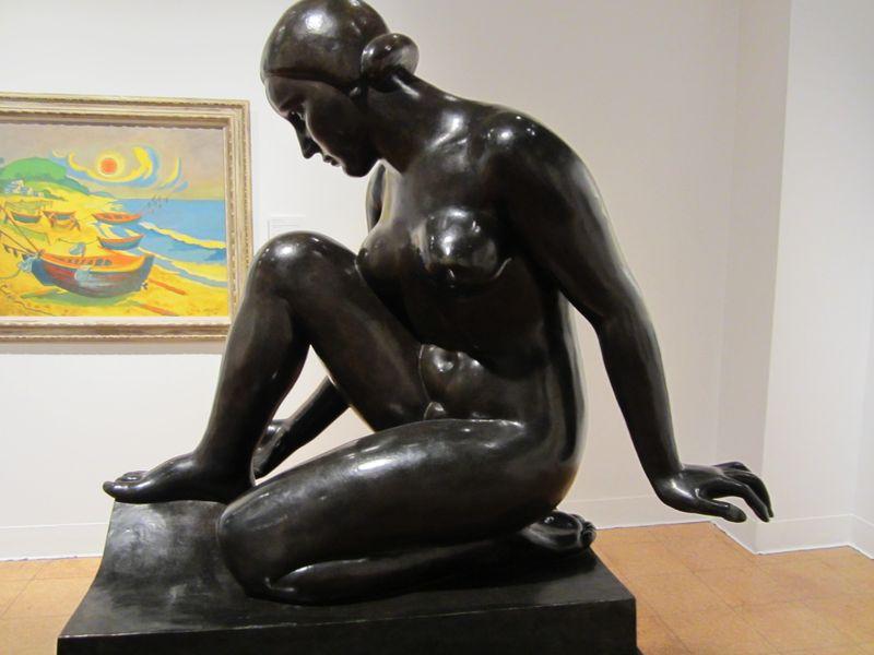 U of A art museum Maillol sculpture-1
