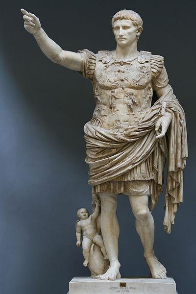 Greek Sculpture it is not  Auguestu of Prima Porta 1st century