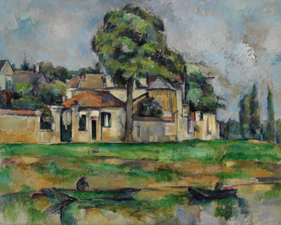 Cezanne_ Bords de la Marne