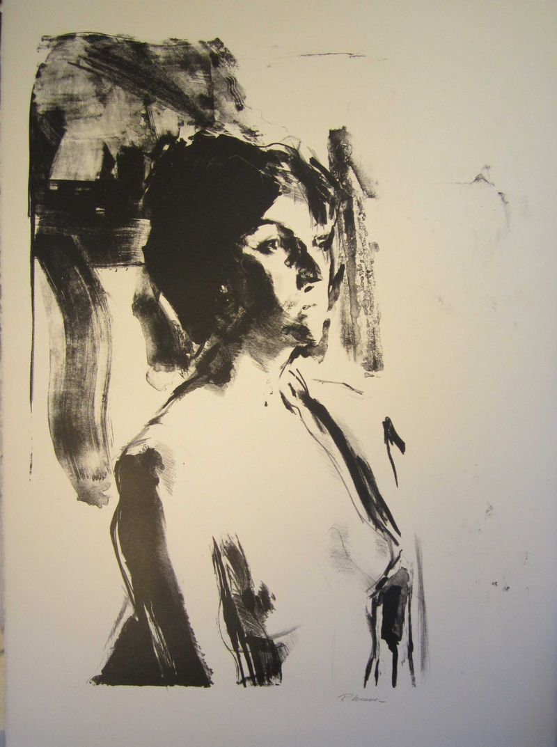 Drawing (Lithograph on paper)-1