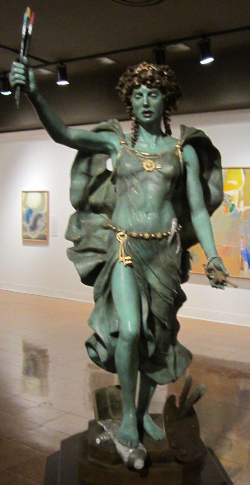U of A art museum sculpture-1